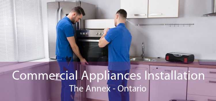 Commercial Appliances Installation The Annex - Ontario
