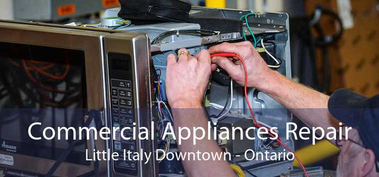Commercial Appliances Repair Little Italy Downtown - Ontario