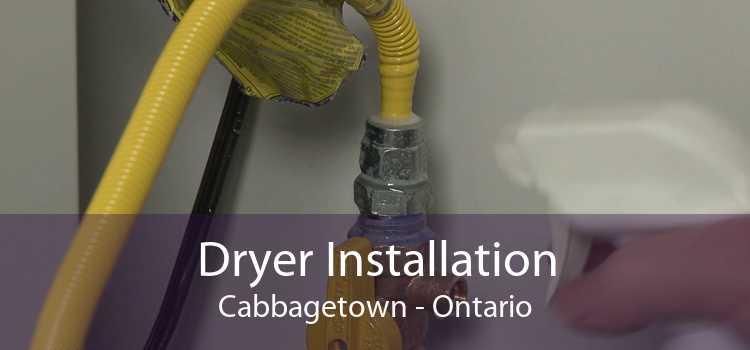 Dryer Installation Cabbagetown - Ontario