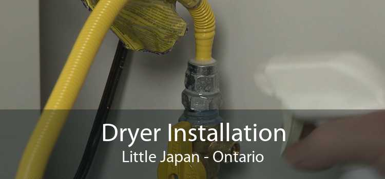 Dryer Installation Little Japan - Ontario