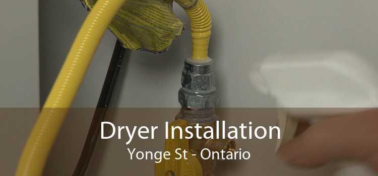 Dryer Installation Yonge St - Ontario