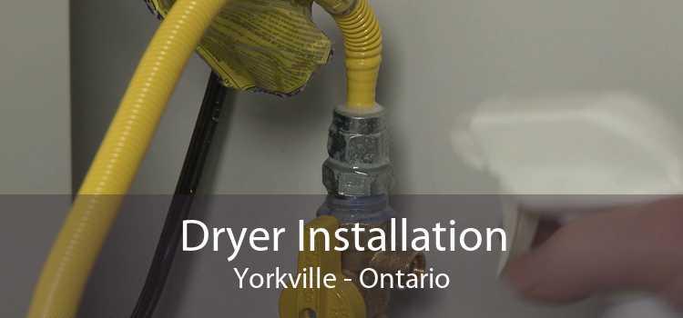 Dryer Installation Yorkville - Ontario