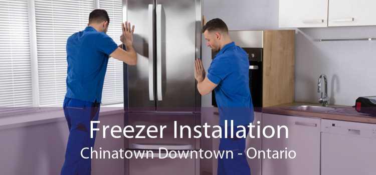 Freezer Installation Chinatown Downtown - Ontario