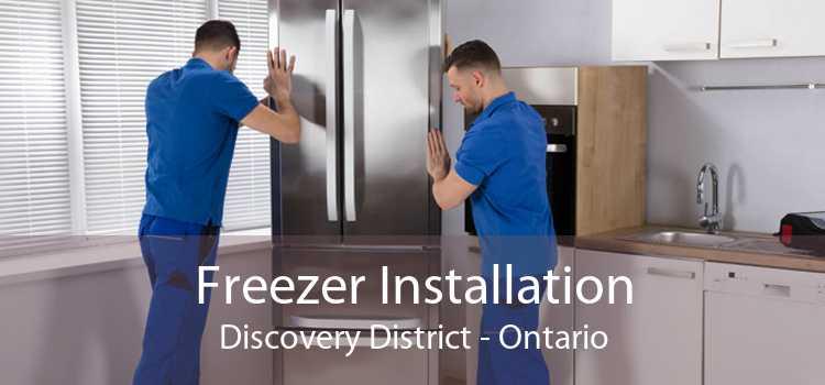 Freezer Installation Discovery District - Ontario