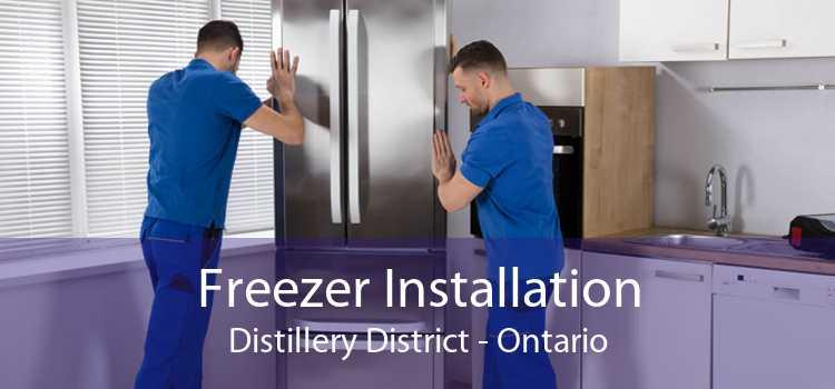 Freezer Installation Distillery District - Ontario