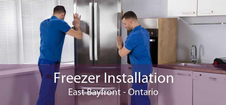 Freezer Installation East Bayfront - Ontario