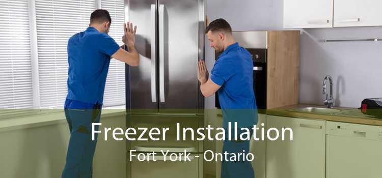 Freezer Installation Fort York - Ontario
