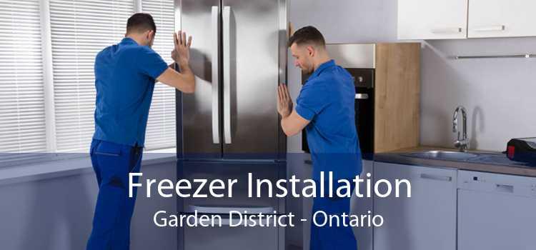 Freezer Installation Garden District - Ontario