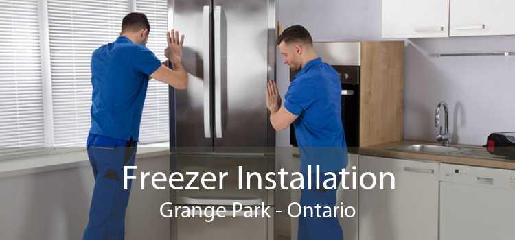 Freezer Installation Grange Park - Ontario