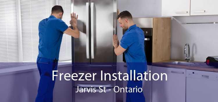 Freezer Installation Jarvis St - Ontario