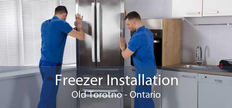 Freezer Installation Old Torotno - Ontario