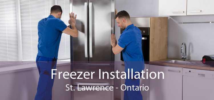 Freezer Installation St. Lawrence - Ontario
