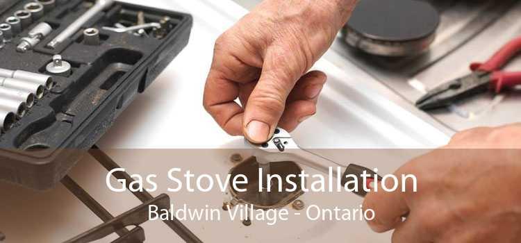 Gas Stove Installation Baldwin Village - Ontario