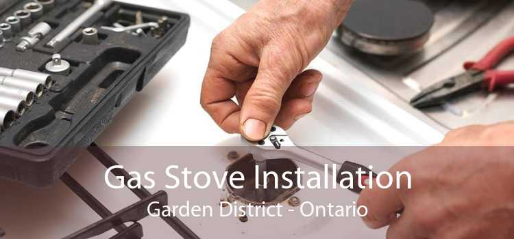 Gas Stove Installation Garden District - Ontario
