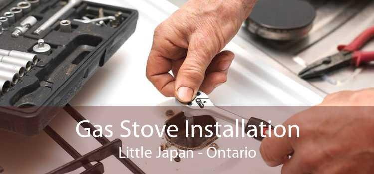 Gas Stove Installation Little Japan - Ontario