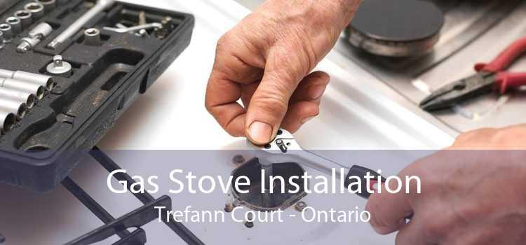Gas Stove Installation Trefann Court - Ontario