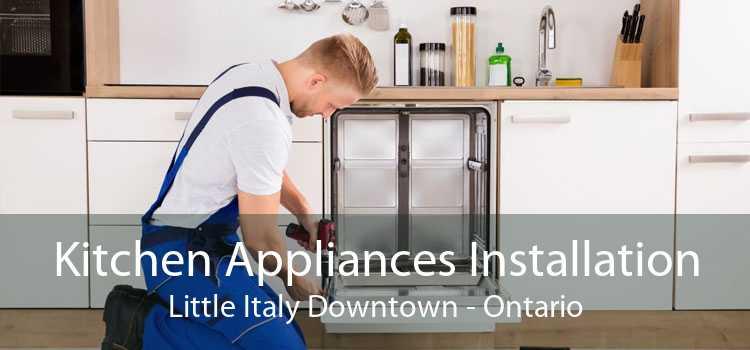 Kitchen Appliances Installation Little Italy Downtown - Ontario
