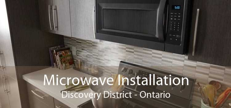 Microwave Installation Discovery District - Ontario