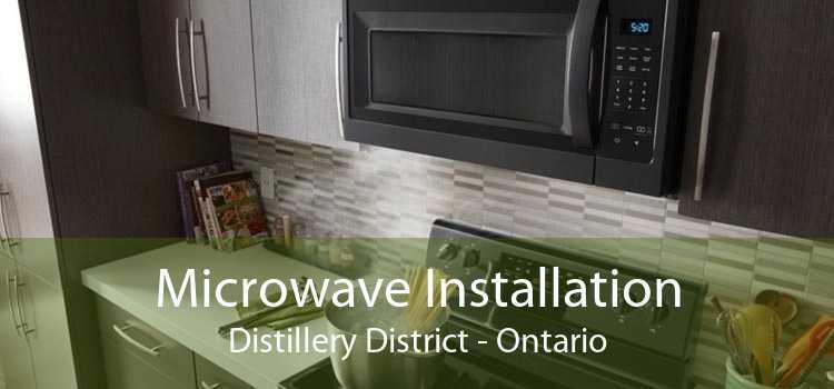 Microwave Installation Distillery District - Ontario