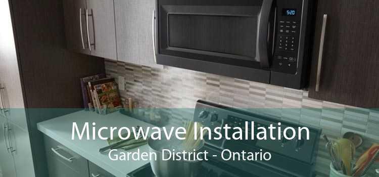 Microwave Installation Garden District - Ontario