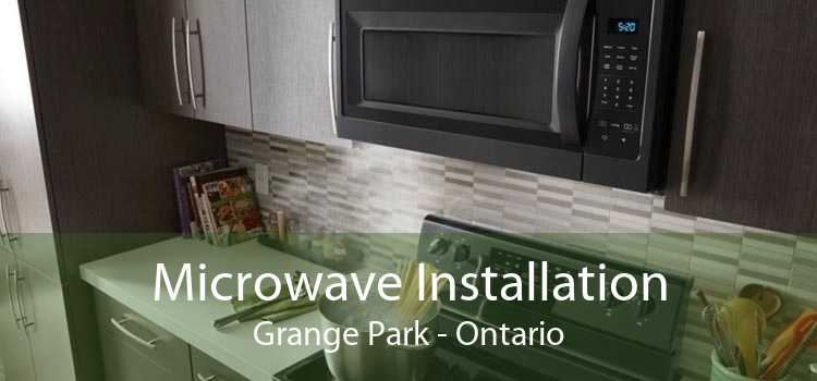 Microwave Installation Grange Park - Ontario