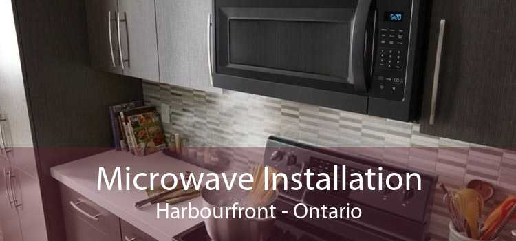 Microwave Installation Harbourfront - Ontario