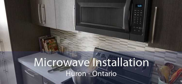 Microwave Installation Huron - Ontario