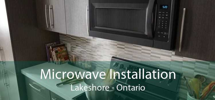 Microwave Installation Lakeshore - Ontario