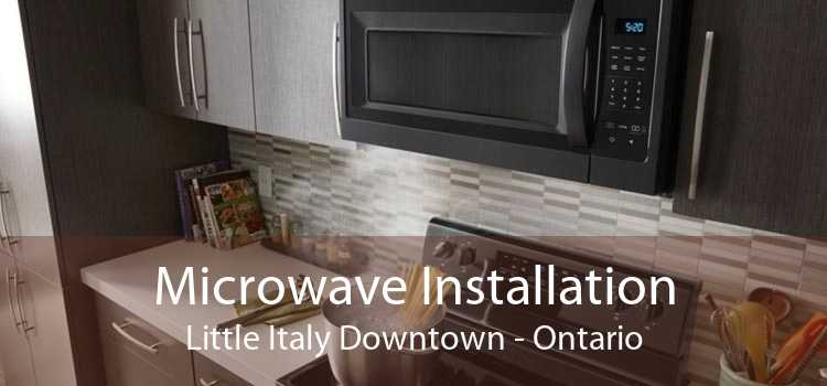 Microwave Installation Little Italy Downtown - Ontario