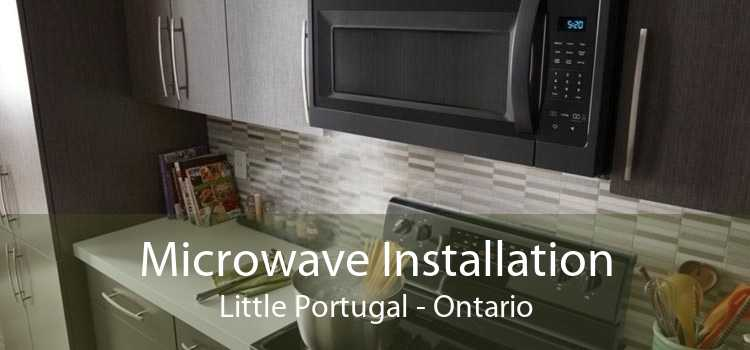 Microwave Installation Little Portugal - Ontario
