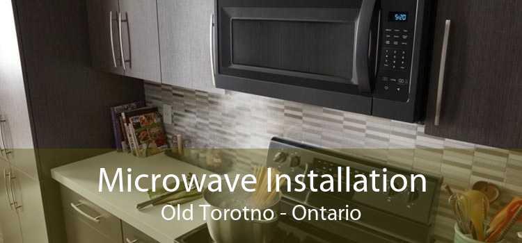 Microwave Installation Old Torotno - Ontario