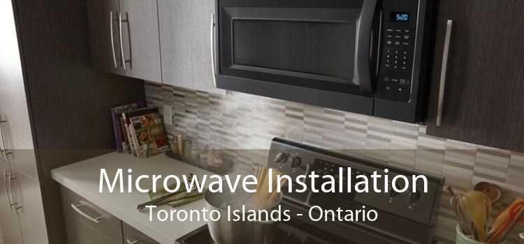 Microwave Installation Toronto Islands - Ontario