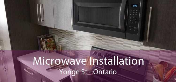 Microwave Installation Yonge St - Ontario