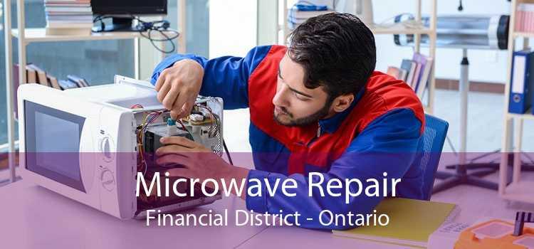 Microwave Repair Financial District - Ontario