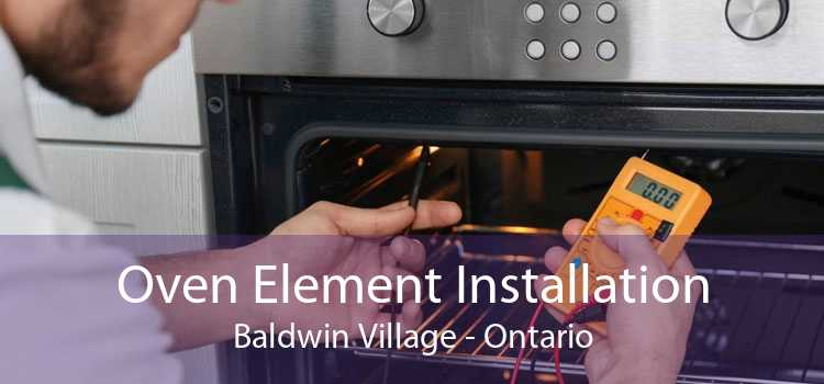 Oven Element Installation Baldwin Village - Ontario