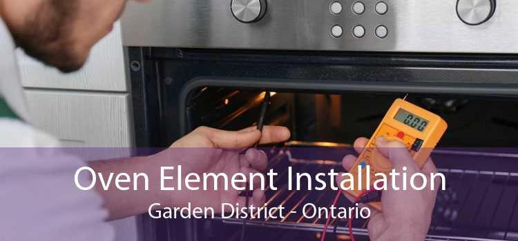 Oven Element Installation Garden District - Ontario