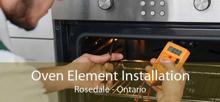 Oven Element Installation Rosedale - Ontario