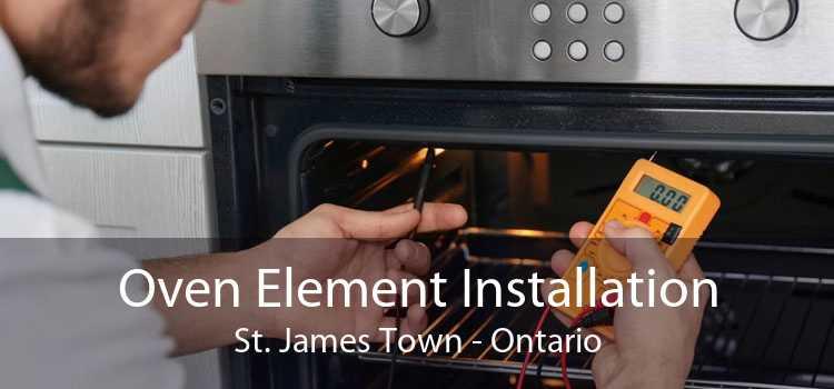 Oven Element Installation St. James Town - Ontario