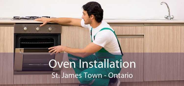 Oven Installation St. James Town - Ontario
