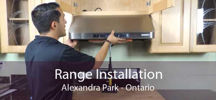 Range Installation Alexandra Park - Ontario