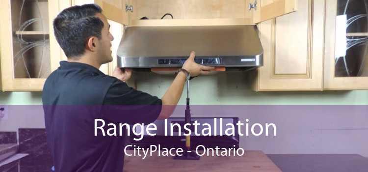 Range Installation CityPlace - Ontario