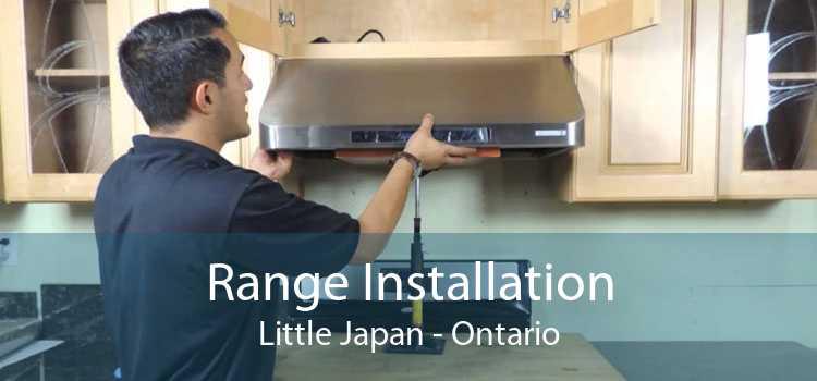 Range Installation Little Japan - Ontario