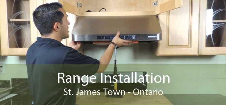 Range Installation St. James Town - Ontario
