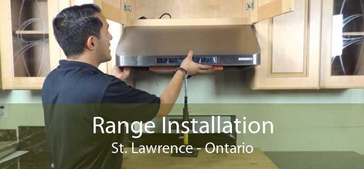 Range Installation St. Lawrence - Ontario