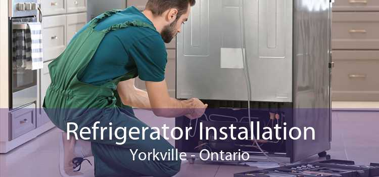 Refrigerator Installation Yorkville - Ontario