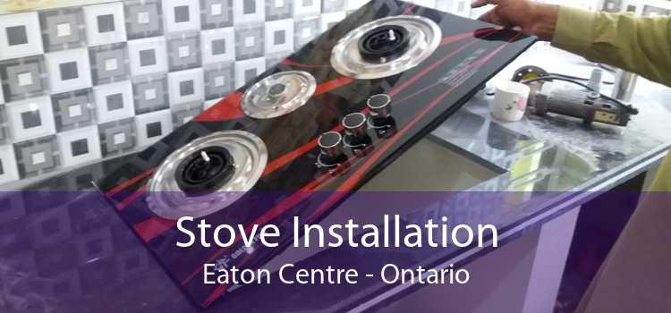 Stove Installation Eaton Centre - Ontario