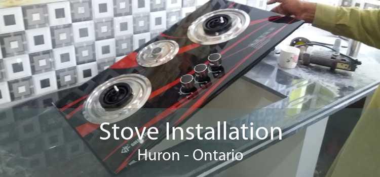Stove Installation Huron - Ontario