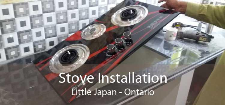 Stove Installation Little Japan - Ontario