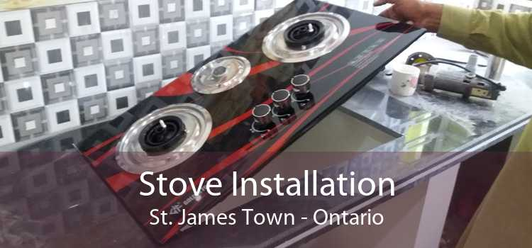 Stove Installation St. James Town - Ontario