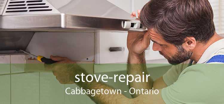 stove-repair Cabbagetown - Ontario